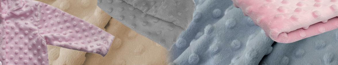 Minky fleece kopen online